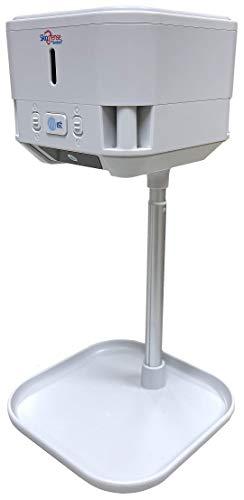 SkinDfense Mist Smart Surface & Smartphone Sanitizing Spray Machine – Portable Sanitizing Mist – Touchless Hand Sanitizer Spray – Automatic Nano Sanitizing Mist Machine with Tabletop Stand