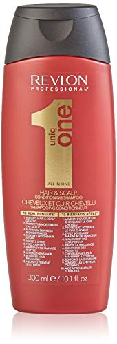 REVLON PROFESSIONAL Uniq One Hair & Scalp All in One Conditioning Shampoo, 1er Pack (1 x 300 ml)