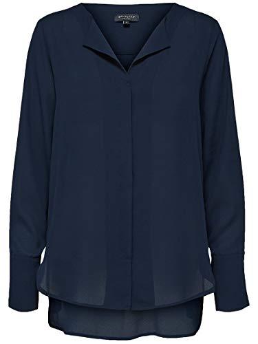 SELECTED FEMME Damen Hemd Nachhaltiges 36Dark Sapphire