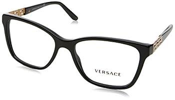 Versace VE3192B Eyeglass Frames GB1-54 - Black VE3192B-GB1-54