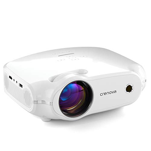 Crenova Full HD 1080P Support Home Projector