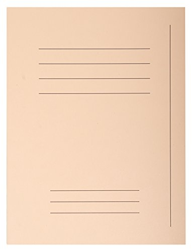 Exacompta 435002E - Lote de 50 Subcarpetas Forever® 250 Impresas, Color Crema