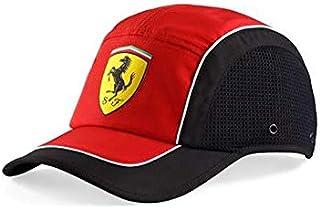 Scuderia Ferrari Sports Cap- Black & White