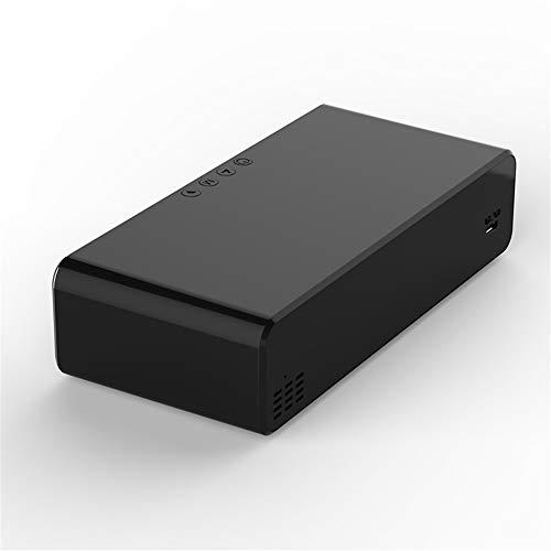 horen LED Elektrischer Wecker 2 in 1 Handy Ladegerät + Wecker Digitale Thermometer Uhr HD-Bildschirm
