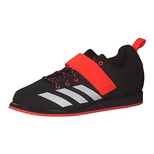 adidas Powerlift 4, Scarpe da Ginnastica Uomo, Nero Bianco Rosso Negbás Ftwbla Rojsol, 44 2/3 EU