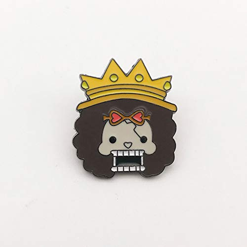 Lupovin Brook King of Soul Pin de Esmalte de Dibujos Animados Mochila Anime Insignia Pin Decoraciones Serie de una Pieza Anime Broche Fans Logotipo de Anime Pin de Solapa Coleccionables Regalo