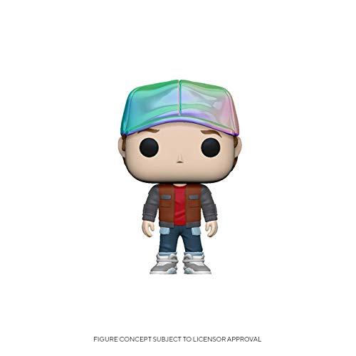 46914 Multicolore Pop Movie Back to The Future-Doc w//Helmet Figura da Collezione Funko