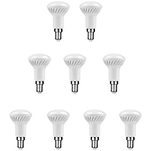 Nuloxx 9Pack LED R505W E144000K/840Neutral White, 400lm, AC 220-240V, 110° Beam Angle, 3-year Warranty.