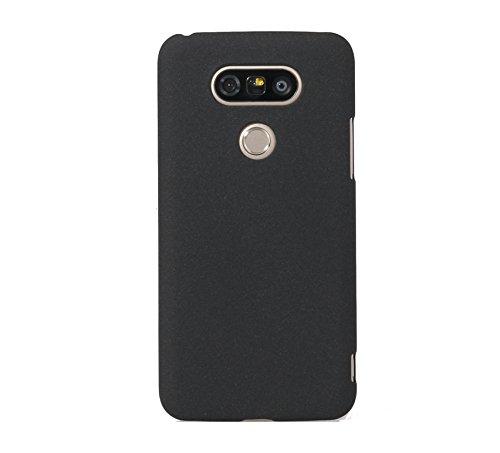 ARTILVST LG G5 Funda,Ultra fino medio rodeó la estructura de superficie mate Durable PC Protector teléfono funda para LG G5 Smartphone [negro]