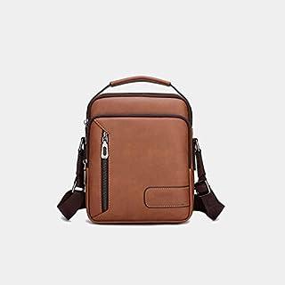 حقيبة ظهر Chliuchihjklstb ، حقيبة كتف متعددة الوظائف ، حقيبة يد للرجال ، حقيبة جلد مقسمة بسعة كبيرة ، حقيبة رسول للرجال ، ...