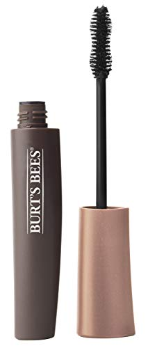 Burt's Bees 100% Natural Origin All Aflutter Multi-Benefit Mascara, Black Brown, 0.32 Ounce