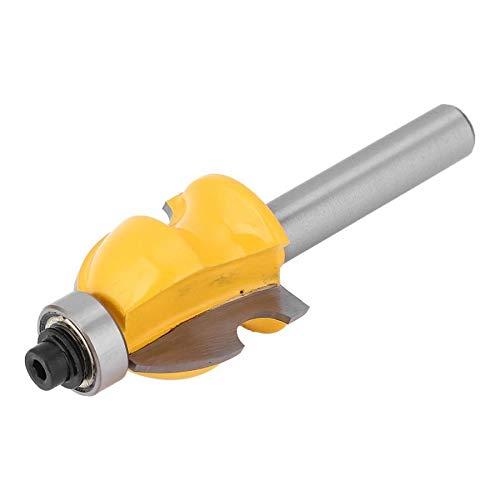 WFBD-CN Holzschnitzwerkzeuge 8mm Schaft Holzbearbeitung Fräser Geländer Schneider Architektur Molding Fräser Handlauf Cutter Drehwerkzeugsatz