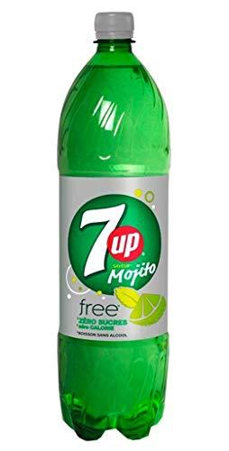 7up Mojito Free Sans Sucres 1,5L (pack de 6)