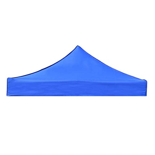 SM SunniMix Outdoor Patio Canopy Cover Replacement - Gazebo Pavilion Roof Tarpaulin Sunshade - Choice of Color & Size - Blue 2x2m
