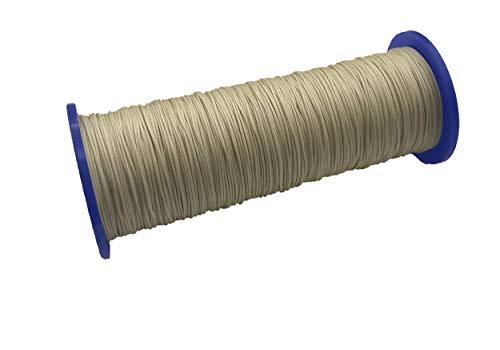 ps FASTFIX 10 Meter Schnur für Plissees 0,8 mm - Creme-beige (hellgelb) - Plisseeschnur - Spannschnur für Plissee