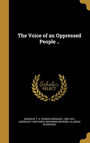 VOICE OF AN OPPRESSED PEOPLE