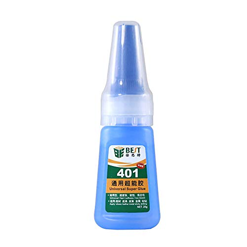 Docooler Best 401 Glue Instant Dry Glue Wood Product Plastic Shoes Leather Ceramic Jewelry Glue for Household Office School