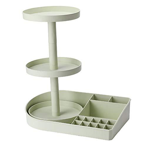 Boîte De Rangement Cosmétique Rotative De Bureau Produits De Soins De La Peau Pour La Maison Coiffeuse Pour Rack (Couleur : B)