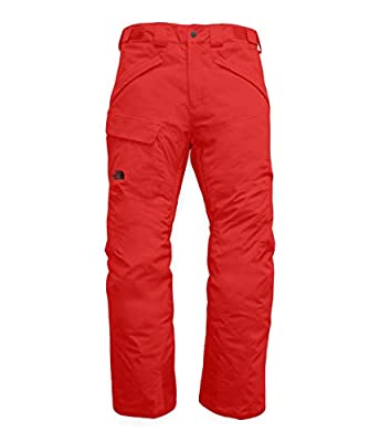 The North Face Men's Freedom Insulated Pants, Fiery Red, XXL Short