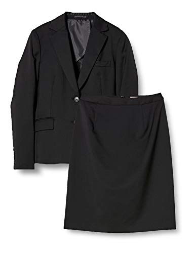 [コナカ] スタイリッシュ ウィメンズ スーツ 就活、ビジネスに最適なベーシックなスカートスーツ、SP_LSET-...