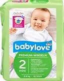 babylove Windeln Premium extra weich Größe 2, mini 3-6kg, 1 x 42 St