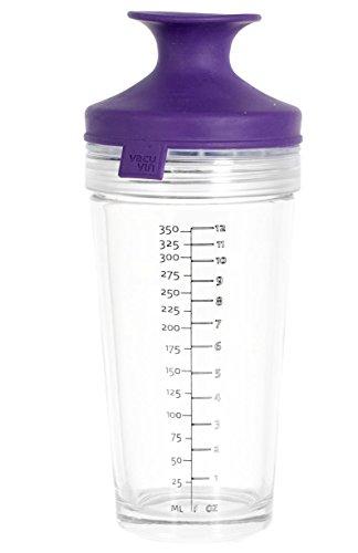 Vacu Vin 7840860 Cocktail Shaker, Transparent/Violet