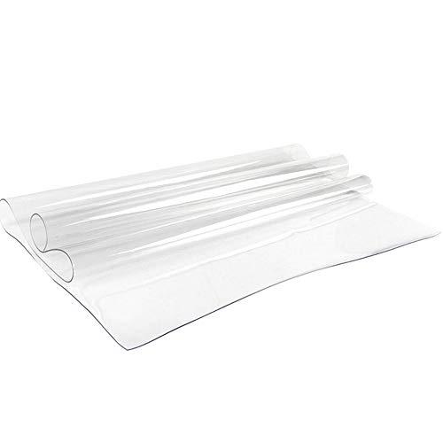 AllRight Tischfolie 150x90CM Tischdecke Transparent Schutzfolie Klar Maß PVC 1.5MM