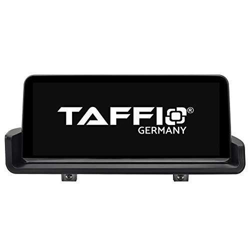 TAFFIO® Android 9.0 Anti Glare Touchscreen GPS Navigation SD USB Multimedia Media Player für BMW 3 E90 E91 E92 E93 ohne Original Display 8-Core Prozessor 4GB RAM + 32GB ROM* + Idrive