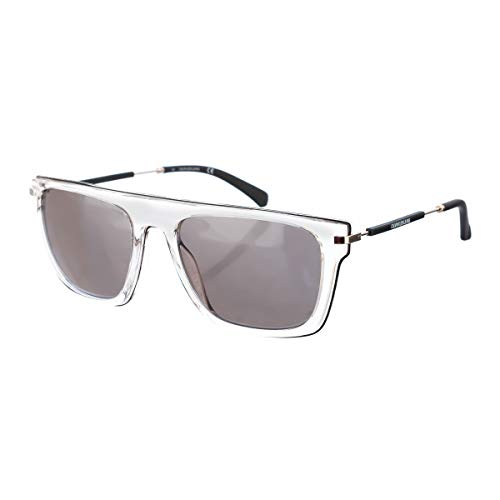 Calvin Klein Jeans CKJ19705S Injected Sonnenbrille Black Unisex Erwachsene Mehrfarbig, Standard