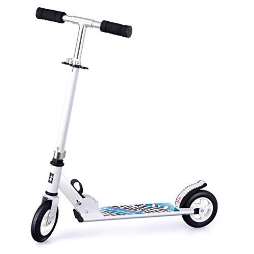 HYE-SPORT Kick Scooter para niños, Sistema Plegable de liberación rápida Pro Kick Scooter, Scooter con Plataforma Extra Ancha para Deportes Extremos y al Aire Libre