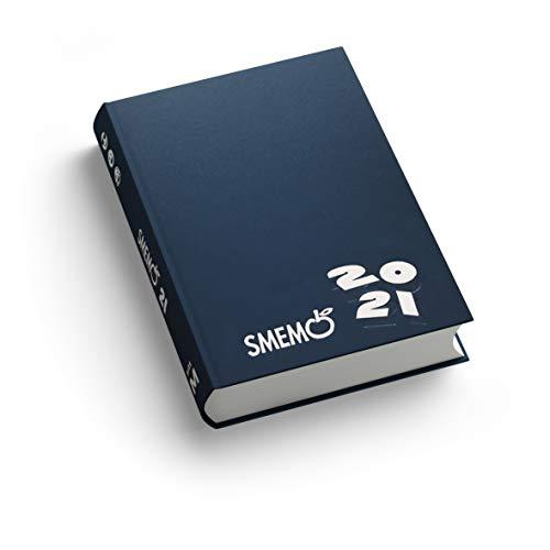 Smemo - Diario 2020/2021 16 Mesi - Blu Logo Bianco - 11x15cm