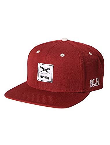 IRIEDAILY Daily Flag Snapback Cap Herren in Maroon, Styled in Berlin