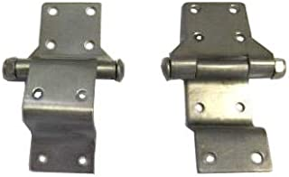 Stainless Steel Hinges for Harley Davidson Tour Pack (Chopped/Razor/King) and Police Hard Saddlebags