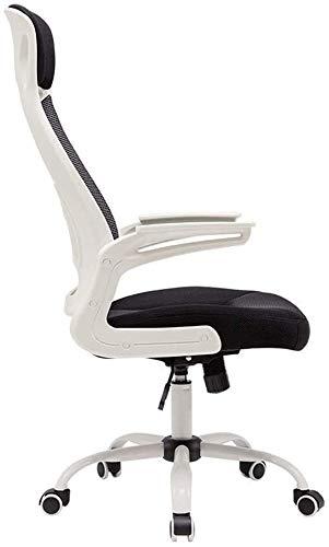 Silla Giratoria de Oficina Silla Silla de oficina escritorio de oficina silla de altura ajustable Sillas Ergonómicas de Rodillas, silla de la tarea Silla de oficina de malla Negro ergonómico giratorio