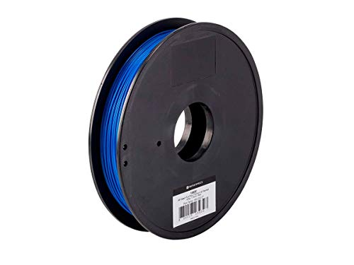 Monoprice - 115830 PLA Plus+ Premium 3D Filament - Blue - 0.5kg Spool, 1.75mm Thick   Biodegradable   Same Strength As Standard ABS   For All PLA Compatible Printers