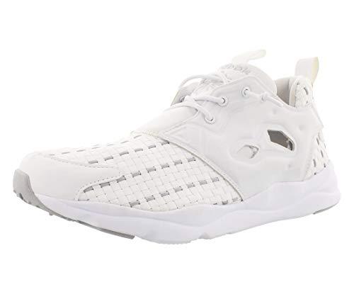 Reebok Lifestyle Women's Furylite New Woven White/Steel Sneaker