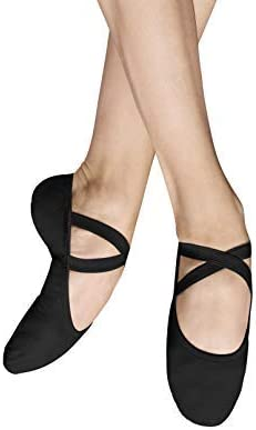 Bloch Dance Womens Performa Stretch Canvas Split Sole Ballet Shoe//Slipper