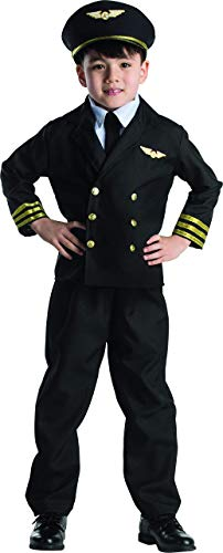 Dress Up America Ensemble de costume Little Garçon Pilot Jacket