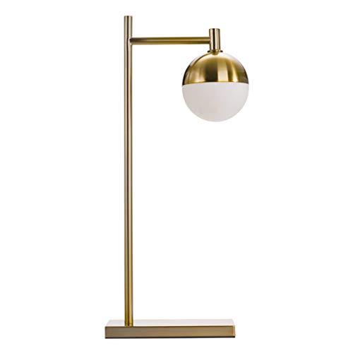 Lámparas de Mesa Lampara mesita noche Simple lámpara de mesa americana Hotel sala de estar Personalidad creativa Lámpara de mesa Dormitorio Lámpara de cabecera Interruptor de botón Mesilla de Noche Lá