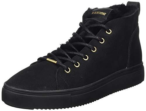 Blackstone Damen QL48 Sneaker, Schwarz (Nero Nero), 39 EU