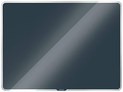Leitz magnetisches Whiteboard aus Glas, 600 x 400, Samtgrau, Cosy-Serie, 70420089