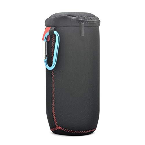 dandandianzi Haut-Parleur Portable de Stockage Zipper Sac de Transport en métal Clip de Protection Stylet de Remplacement pour JBL Flip4 Parleur sans Fil