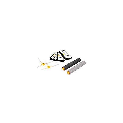 IRobot Accessoire Officiel - Kit d'entretien pour Roomba de série 800 et 900 - 2 brosses latérales - 3 filtres haute efficacité - une paire de brosses