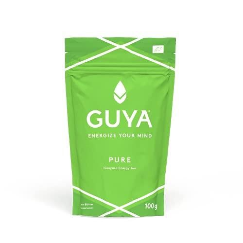 Bio Guayusa Tee lose (Pure, 100% Guayusa) | 100g für 40 Tassen | Energize Your Mind | Kaffee Alternative | Natürliches Koffein, L-Theanin, Theobromin & Theophyllin