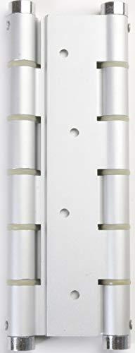 Cambesa BL9523306 Blister mit Doppelscharnier, Aluminium, silber