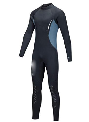DEcn PANDA Mens Wetsuits Full Length 5mm Deep Dive Cold Protection Nuoto Invernale Tenere in Caldo Pantaloni a Maniche Lunghe L
