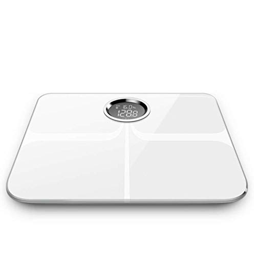 Monitores de grasa corporal y composición corporal Básculas electrónicas Smart Home Health Grasa corporal Instrumento analítico de medición de peso Aplicación Bluetooth Monitoreo de teléfono móvil