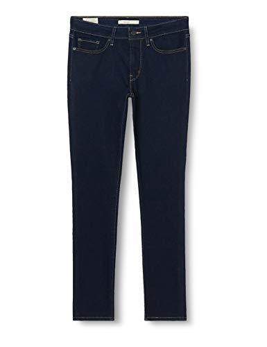 Levi's Damen 711 Skinny Jeans, Schwarz (To The Nine 0352), 29W / 30L