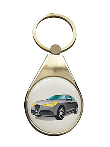 StartYourDreamCar Llavero compatible con Alfa Romeo Stelvio.
