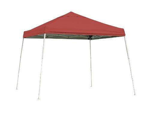 Shelter Logic 10 x 10 Sport Slant Leg Pop-Up Canopy - Red